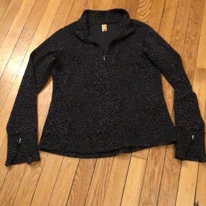 Lucy pullover 1/4 zip super cute EUC